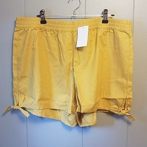 Gold Madewell shorts